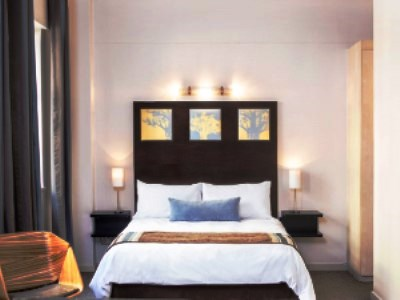 bedroom - hotel mapungubwe hotel - johannesburg, south africa