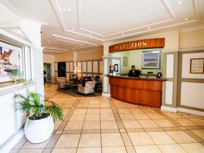 lobby - hotel the beach - port elizabeth, south africa