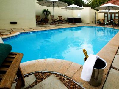 outdoor pool - hotel devon valley - stellenbosch, south africa