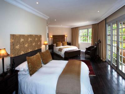 bedroom 3 - hotel devon valley - stellenbosch, south africa